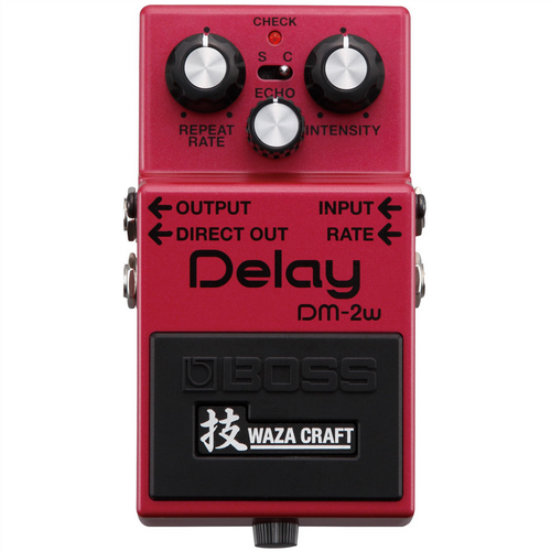 Boss DM-2W Waza Craft Analogue Delay Guitar Effects Pedal